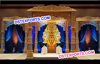 Wedding Golden Bollywood Mandap