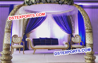 Elephant Wedding Mandap