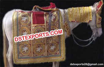 Traditional Indian Wedding Horse Decoration