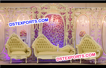 Exclusive Wedding Stage Backdrop Decoration Panel