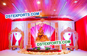 Hindu Wedding Ganesha Decors