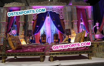 Moroccan Theme Stage Decors