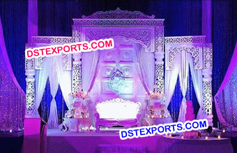 Indian Filmy Style Wedding Stage