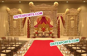 Latest Bollywood Wedding Stage Set