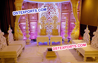Latest Design Wooden Chairs For Mandap