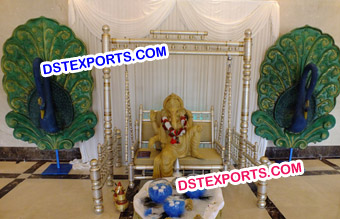 Ganpati Swing Decoration Theme