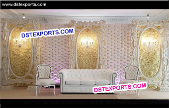 English Wedding Latest Reception Stage