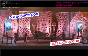 Grand Wedding Stage Panels Decors
