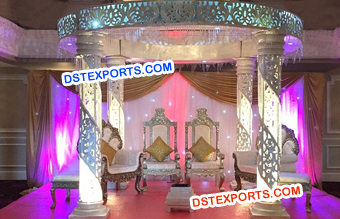 Lighting Crystal Mandap