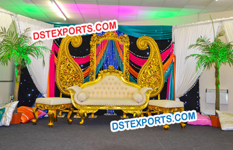 Punjabi Wedding Sangeet Stage