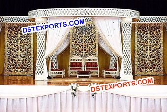 Crystal Mandap Set