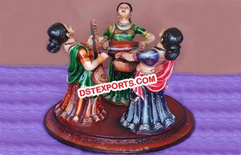 Musical Rajasthani Statue Table