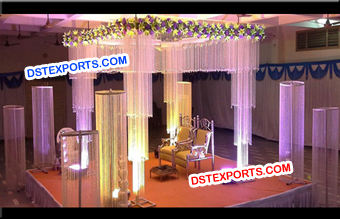 Fully Crystal Mandap