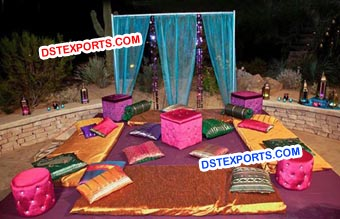 Latest Wedding Night Stage Decors