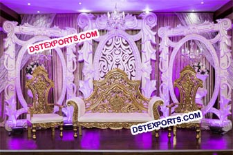 Modern Wedding Stage Stylish Panels