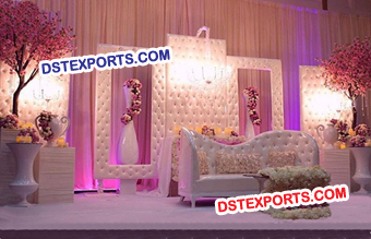 Latest Wedding Tufted Panel Frame Decors