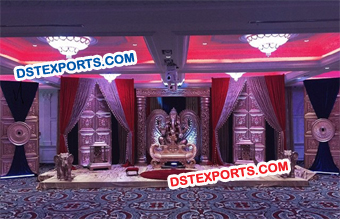 Traditional Indian Wedding Bollywood stage