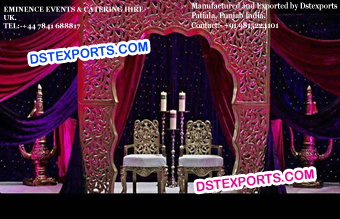 Muslim Wedding Walima Backdrop Panel