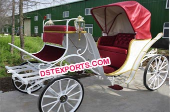 Modern Wedding Victorian Carriage