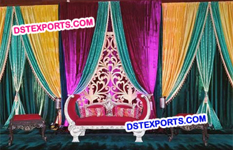 Asian Wedding Stage Backdrop latest Curtains