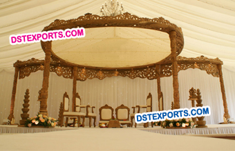 Wedding Handicraft Designer Wooden mandaps
