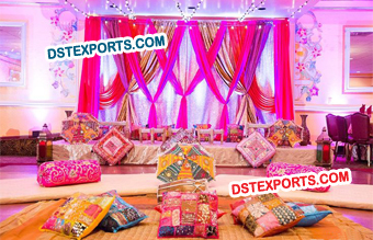 Rajasthani Wedding Mehandi Stage