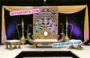 Wedding Backdrop Fiber Panel Decoration