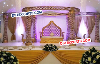 Kite Pillars Mandap