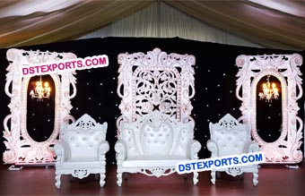 Designer Wedding Carved Flat Panels