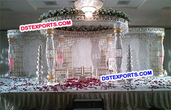 Wedding Bottle Mandap Set