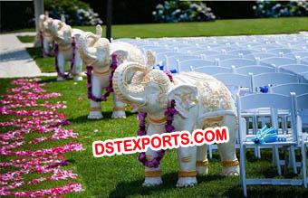 Outdoor Wedding Elephant Statue Decor