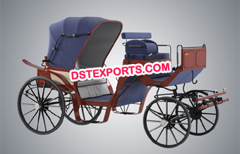 Elegant Victoria Horse Carriage