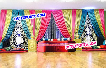 Wedding Mehandi Stage Designer Backdrop