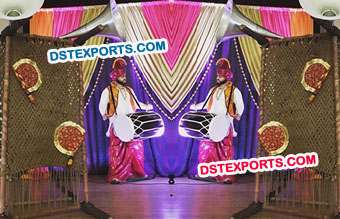 Punjabi Theme Stage Decoration