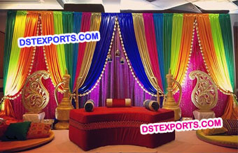 Wedding Mehandi Props Decoration