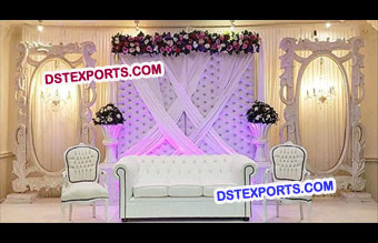 Grand Walima Wedding Stage