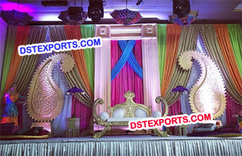 King Wedding Mehandi Stage Decoration