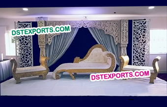Rajasthani Wedding Modern Stage