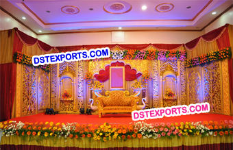 Manavari Wedding Stage Backdrop Panels