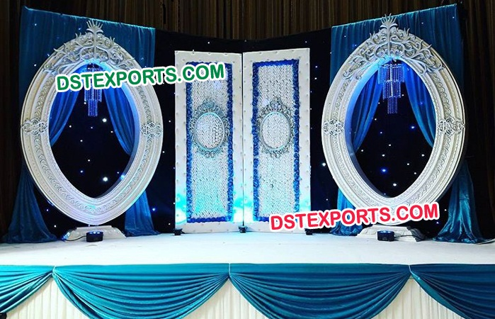 Fabulous Wedding Oval Panels Stage