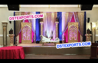 Traditional Look Wedding Stage