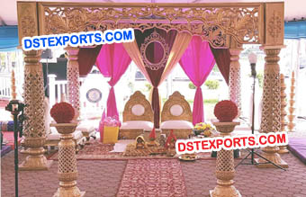 Royal Look Traditional Mandap Set