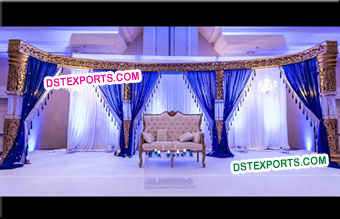 Bollywood Style Wedding Crystal Stage
