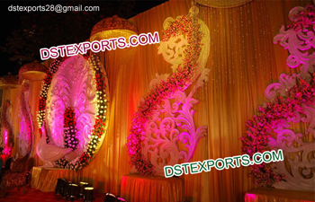 Indian Wedding Props Decorations Paisleys