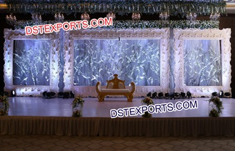 Latest Wedding Stage Photo Frames Backdrop Panels