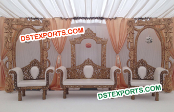 Indian Wedding Frames For Stage Decoration