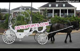Wedding Bridal Cinderella Carriage Buggy