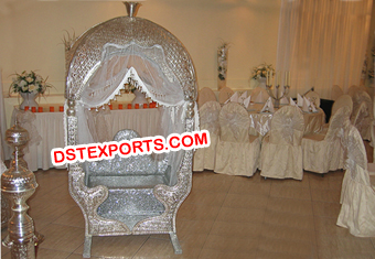 Latest Silver Metal Moroccan Wedding Doli