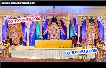 Bollywood Muslim Wedding Walima Stage