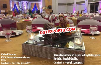 Punjabi Theme Center Table Decoration